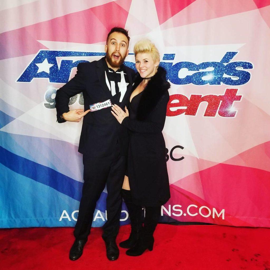 america's got talent AGT NBC NBCU Alex Kazam Elycia Rose Magic Mystery Audition Live TV mindreader mentalist telepath magic