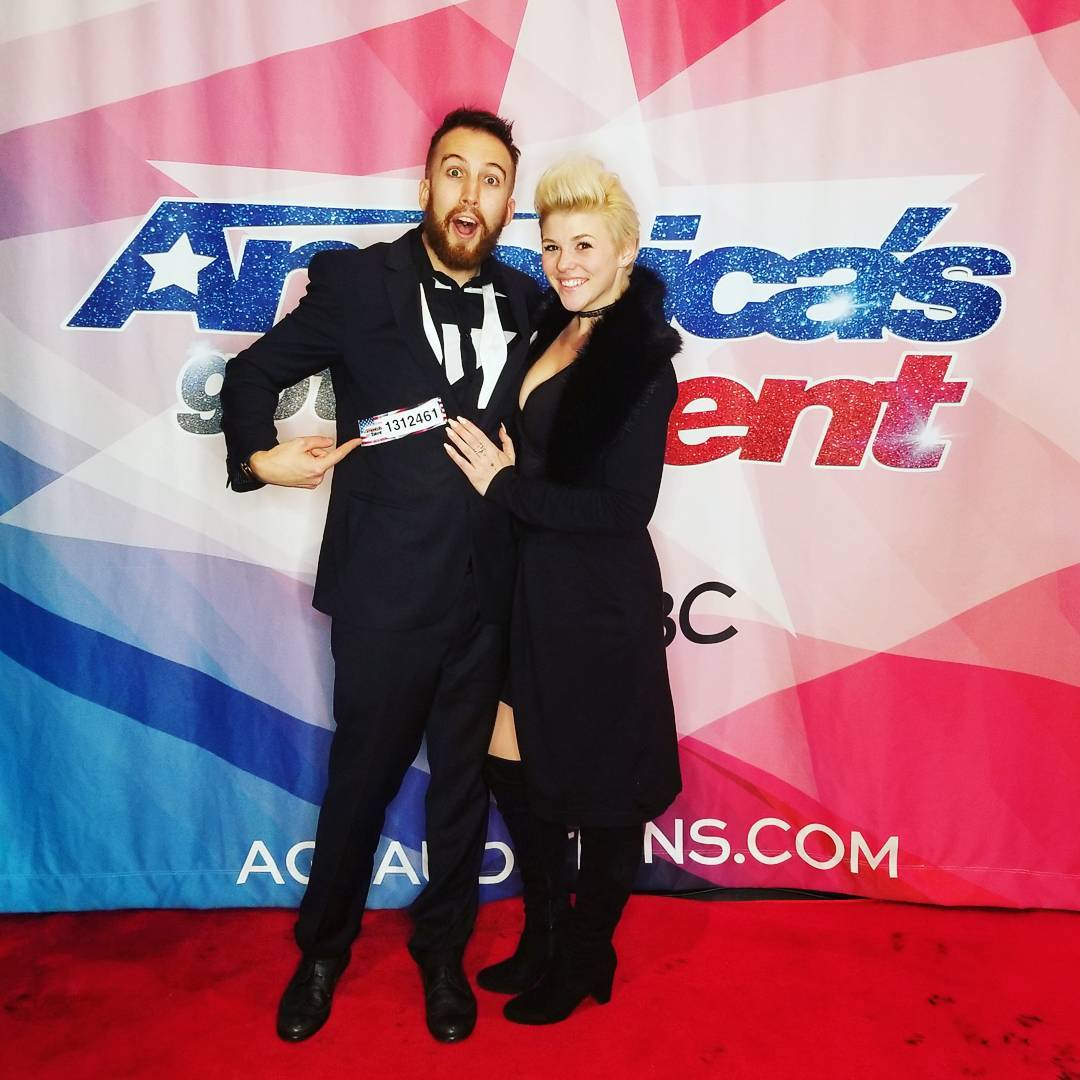america's got talent AGT NBC NBCU Alex Kazam Elycia Rose Magic Mystery Audition Live TV mindreader mentalist telepath magic