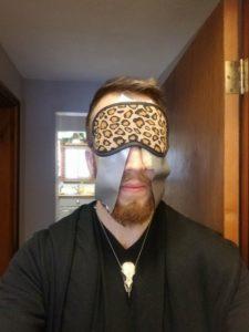 blindfold dough sleep mask drive alex kazam ideas
