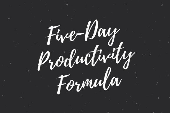 productivity formula alex kazam magic product free